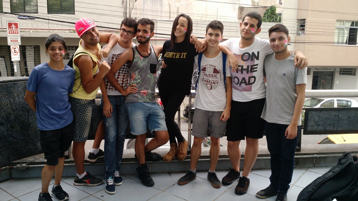 A voz da Juventude na ParadaLGBT